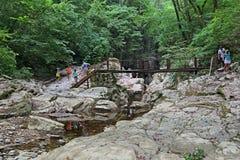 Agura峡谷 免版税库存照片