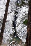 Agura siklawa w górach Obraz Royalty Free