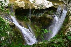 Agura waterfalls  in Sochi Stock Photos