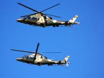 Agusta Hubschrauber Stockbild