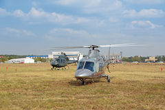 Agusta A109S Grand helicopter Stock Photography