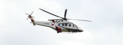 Agusta Westland AW149 militär helikopter för polsk armé fotografering för bildbyråer