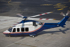 Agusta Westland AW139 Helicopter Royalty Free Stock Images