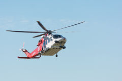 AgustaWestland AW139 helicopter during Los Angeles American Hero Stock Image