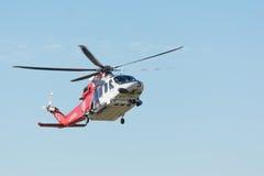 AgustaWestland AW139 helikopter podczas Los Angeles amerykanina bohatera Obraz Stock