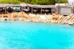 agusti Calo De Es Formentera wyspy port San Zdjęcia Royalty Free