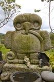 agustin archaelogical哥伦比亚公园圣 库存照片
