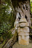 agustin archaelogical Colombia parkowy San Obraz Royalty Free