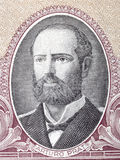 Agustin Arturo Prat Chacon portrait Royalty Free Stock Images