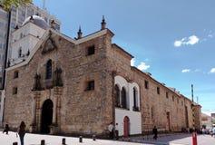 agustin Bogota Colombia San świątynia Obraz Stock