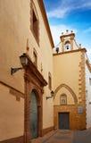 Agustinas chuch w Denia fasadzie przy Alicante Obraz Royalty Free