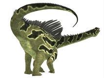 Agustinia dinosauriesvans Royaltyfria Bilder