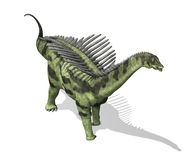 Agustinia. The Agustinia was a sauropod dinosaur that lived during the Early Cretaceous period - 3d render Stock Photos
