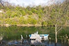Agva rzeka Zdjęcia Royalty Free