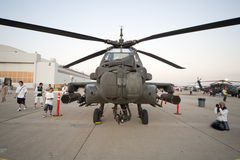 AH-64 Apache Royalty Free Stock Images