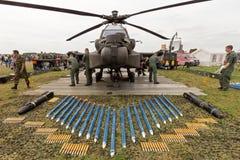 AH-64 Apache Zdjęcie Stock