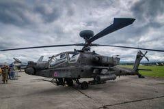 AH 64 Apache Imagen de archivo libre de regalías