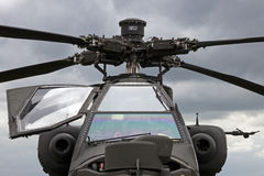 AH-64 Apache Royalty Free Stock Photos