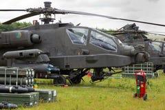 AH-64 Apache Stock Image