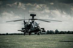 AH-64D Apache Photographie stock