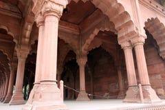 ah Delhi fortu lal qil czerwień Zdjęcie Royalty Free