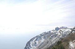 Ah-Petri Crimea a ski resort Royalty Free Stock Photography