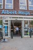 AH supermercado em Weesp os Países Baixos imagem de stock royalty free