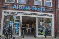 AH supermercado en Weesp los Países Bajos Imágenes de archivo libres de regalías