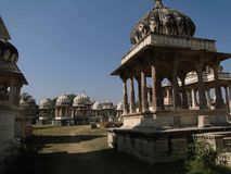 Ahar cenotaphs of the Maharanas of Mewar, Stock Image