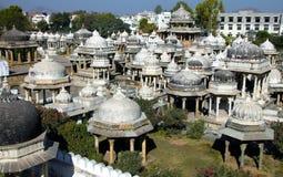 Ahar-Ehrengrabmale, Udaipur, Rajasthan, Indien, Asien Stockfoto