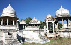 Ahar-Ehrengrabmale, Udaipur, Rajasthan, Indien, Asien Lizenzfreie Stockbilder