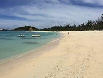 Aharen wyrzucać na brzeg, tokashiki wyspa, Okinawa, Japonia Zdjęcie Royalty Free