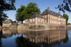 ahaus城堡水 免版税库存照片