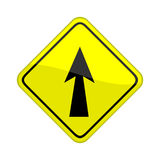 Ahead arrow Royalty Free Stock Images