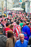 Ahead of Europa League 2012 Final(10) Stock Image