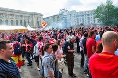 Ahead of Europa League 2012 Final(11) Stock Image