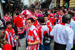Ahead of Europa League 2012 Final(8) Royalty Free Stock Photos