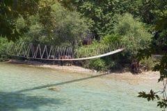 Aherontas rzeka w Grecja Zdjęcie Royalty Free