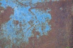 Aherrumbrado y azul Fotografía de archivo libre de regalías