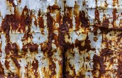 Aherrumbrado y pelando la pintura texturice foto de archivo libre de regalías