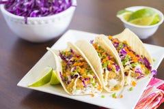 Ahi Katsu Sushi Tacos Fotografering för Bildbyråer