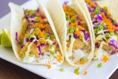 Ahi Katsu suszi Tacos Obraz Stock