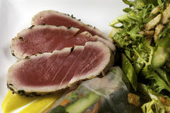 Ahi Tuna Royalty Free Stock Photo