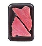 Ahi Tuna Raw Steaks Foto de archivo libre de regalías