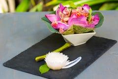 Ahi Tuna Salad Royalty Free Stock Photo