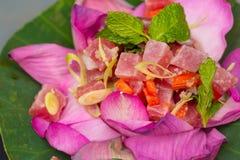 Ahi Tuna Salad Stock Photo