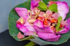 Ahi Tuna Salad Stock Photos