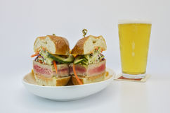 Ahi Tuna Sandwich Stock Images