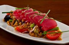 Ahi Tuna Sashimi Salad Stock Photos