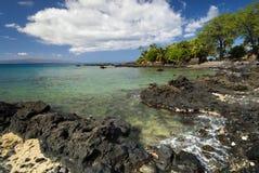 Ahihi Keanau rezerwa, wielki snorkeling, Maui, Hawaje Obraz Stock